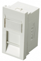 Excel Cat5e FTP Shielded Euro Module - White