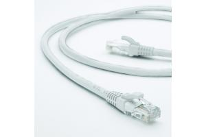 EXCEL Cat 6 0.5M Booted Patch Lead White LSOH