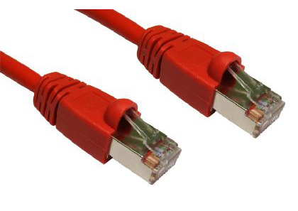Cat6 FTP Shielded Snagless Patch Cable 20m - Red