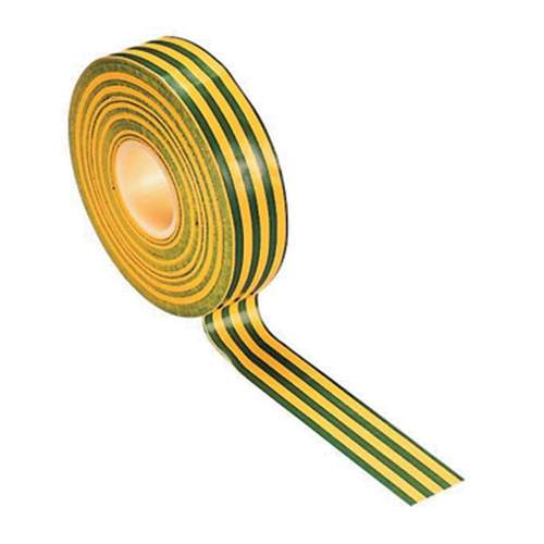 19mm PVC Tape Green/Yellow