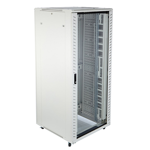 Excel Environ CR800 42U 800w x 800d Grey-White - Flat Packed