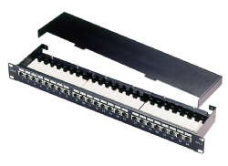 Excel Cat5e Shielded 24 Port FTP Patch panel